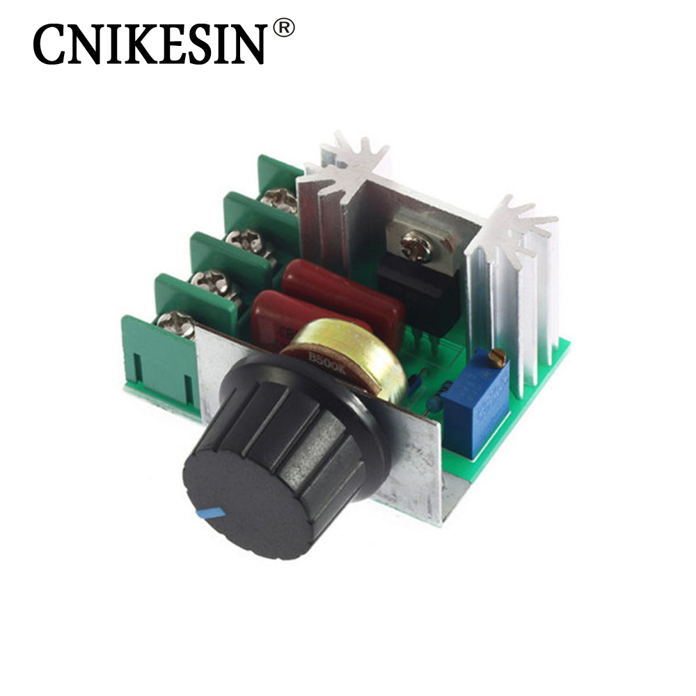 Imports of 2000w high power thyristor dimmer electronic voltage regulator for temperature control