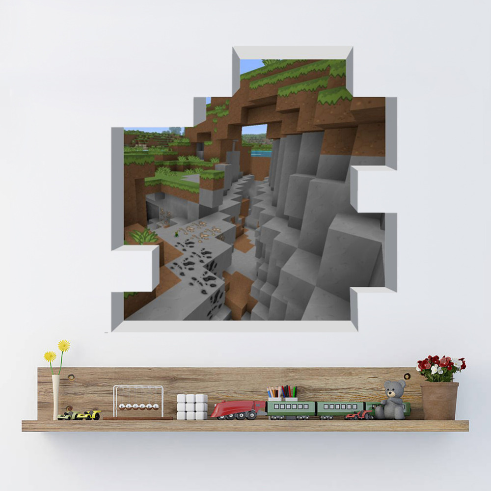 Minecraft wall decoration ideas the image kid has it - Minecraft home decor photos ...