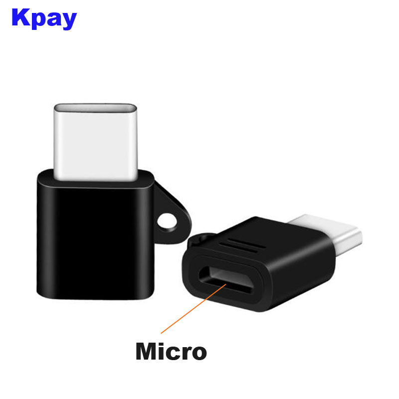 Male Type-C To Femal Micro Adapter Support Sync Charge OTG For Huawei Mate 20 10 Pro Xiaomi Mi 8 6