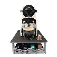 Capsule Stand Nespresso Storage Drawer Metal Rack Organization 44 Nespresso Capsules Free Shipping