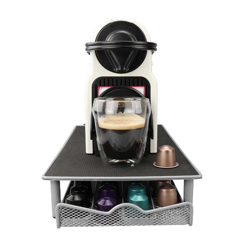 nespresso support pour capsules tiroir de rangement en metal 44 capsules nespresso livraison gratuite