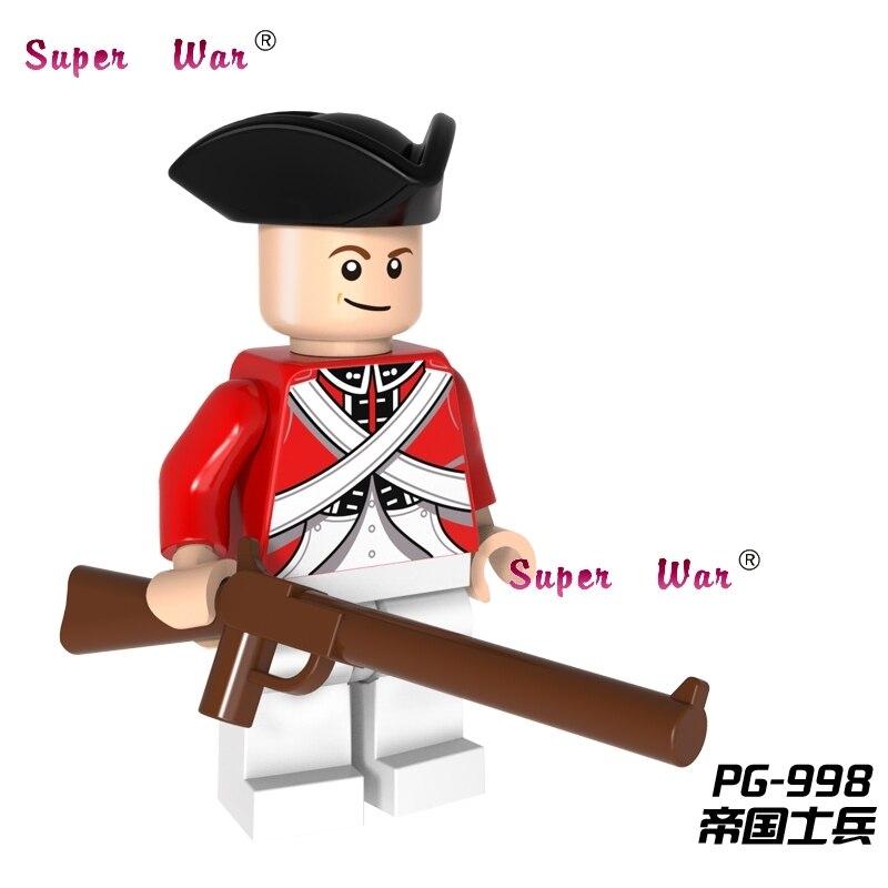 50pcs Imperial Redcoat Guards Series building blocks action bricks friends for girl boy house kids children
