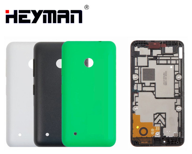 best service df489 688a6 US $3.9 |Heyman Cover Battery Housing for Nokia Lumia 530 Lumia N530 LCD  Screen Holder Middle Front Frame Bezel back Back Cover Case door-in Mobile  ...