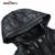 Seven7 marca hombre chaquetas moda con capucha parkas abrigos militar chaquetas de cuero tamaño s-xxxl ropa masculina, de invierno abrigos 703k2904