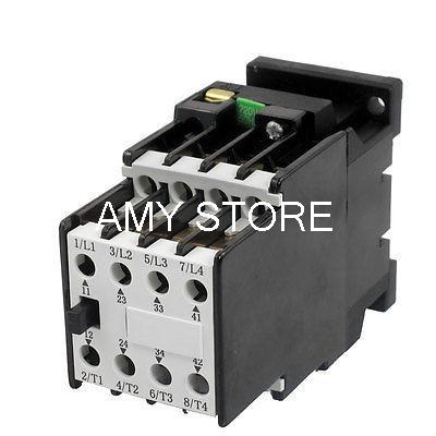 220V 50Hz Coil 5.2A 3 Pole 2NO 2NC 4KW 660 Ue AC Contactor