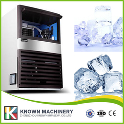 CE ISO 60 kg/24h output automatic ice factory machine cube with 40 pieces ice grid quantity