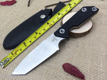 NEW! STRIDER Hunting Fixed Knife D2 Blade G10 Handle Camping Knife Survival Knife Hunting Military Knife