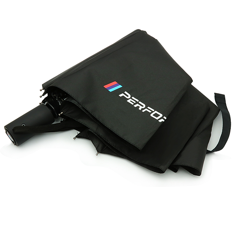 M Performance Fully Automatic Umbrella Stickers For BMW E46 E60 E90 E30 E92 E93 F30 F10 E36 E39 F15 F16 E85 E86 E53 X5 X3 M3 M5