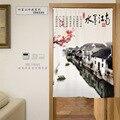 Красивые занавески в китайском стиле  стираемая живопись  серия  цифровая печать  занавеска для двери  полиэстер  декоративная перегородка  ...