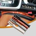 Venda quente de Alta Qualidade Assento de Carro Fenda Lacuna Rolha Protetor de Assento de Carro Cobre Couro PU Macio À Prova de Fugas