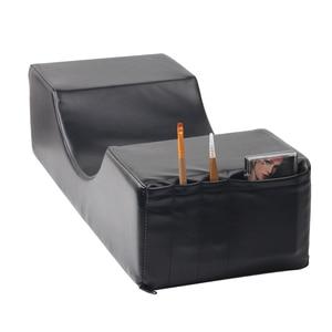 Image 2 - まつげエクステンション専門枕、特別使用のためのグラフトまつげエクステンション、革とフランネル枕