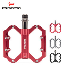 PROMEND 3 Colors Ultralight Aluminum Alloy Mountain Bike Pedals Mtb CNC Sealed Bearing Road Cycling SPD Bicycle Pedal Parts цена