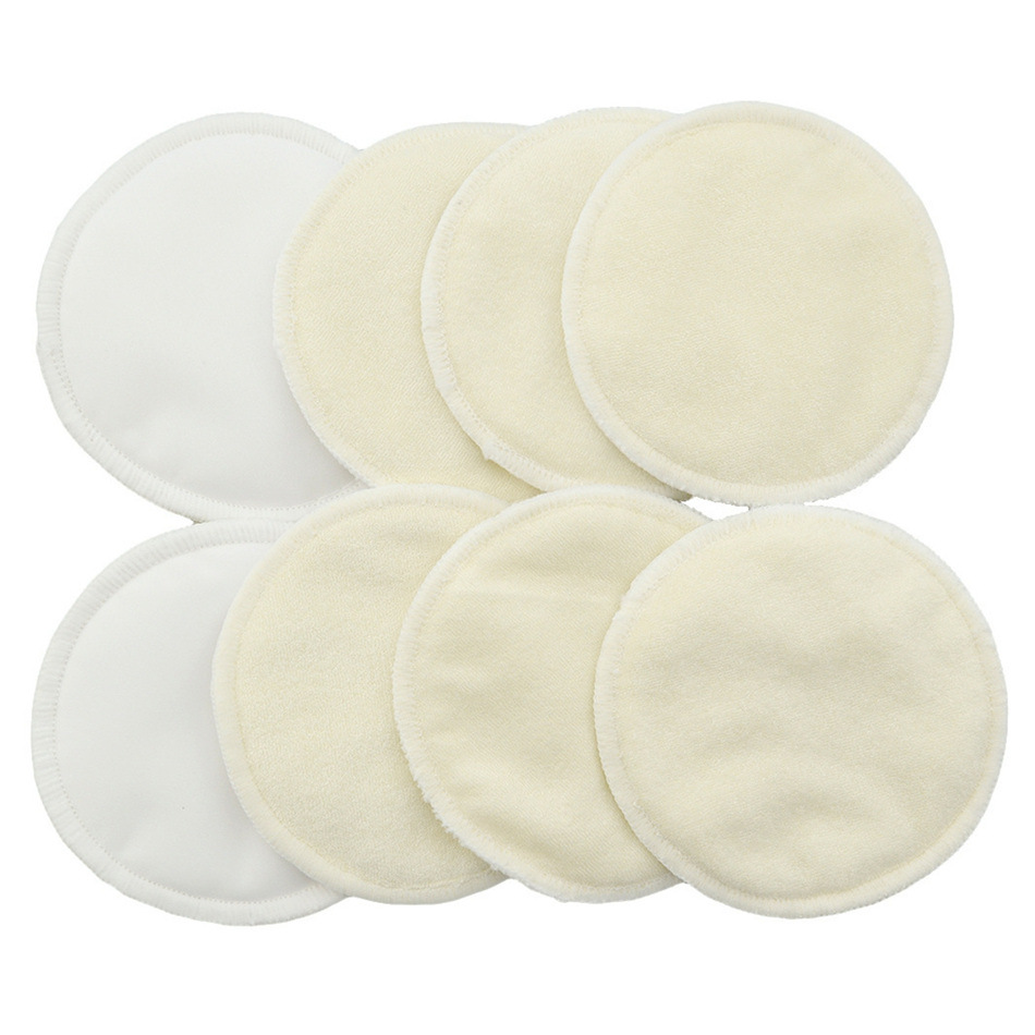 4pcs/lot Soft Reusable Skin Care Face Wipes Washable Deep Cleansing Cosmetics Tool Round Makeup Remover Pad Dropshiop
