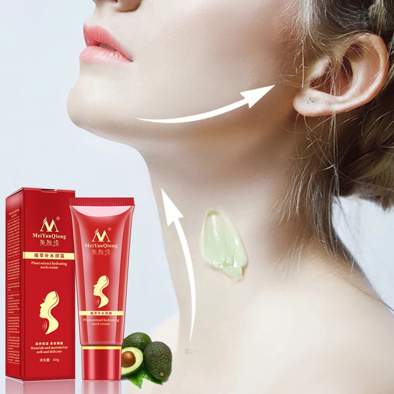 Shea Butter Extract Hydrating Neck Cream Nourish Moisturizing Anti wrinkle Firming Fade Fine lines Reduce Double Chin Neck care in Neck from Beauty Health
