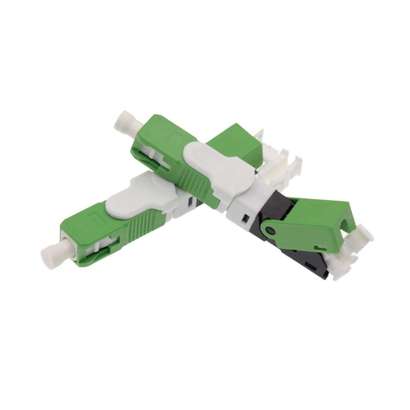 100pcs fast connector SC APC New ftth field assembly quick conector SC APC fiber optic fast