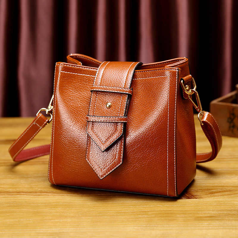 Female Bag Ladies Genuine Leather Bags For Women 2019 Crossbody Messenger Bag Women Shoulder Women Handbag small female new T18
