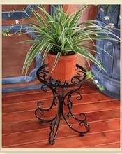34 * 24 * 25 см европейский балкон и крытый цветочный горшок держатель сад цветок стенд цветок беседки белый черный и медь цвет