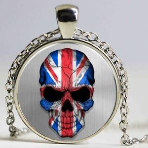 Personality Punk UK Flag Skull