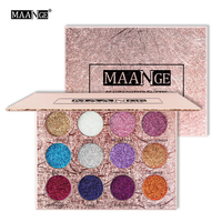 Eye Shadow Professional Nocturne Eyeshadow Pallete Professional 12 Colors Make Up Palette Matte Shimmer Glitter Pigmented