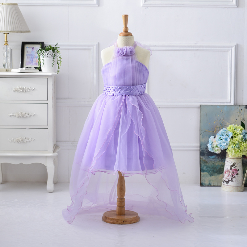 Hermosa Vestidos De Partido De La Princesa Para Los Niños Pequeños ...