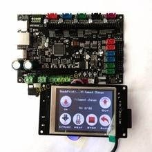 MKS SBASE + MKS TFT32 V3.0 display 3D printer controller kits integrated Microcontroller ARM Cortex smoothieboard Smoothieware