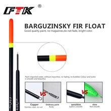 FTK Barguzinsky Fir 10 Pcs/Lot Bobber Fishing Float Length 16-22 CM Float 1G 2G 3G 4G For Carp Fishing