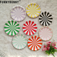 FUNNYBUNNY Birthday party, disposable plate, childrens birthday party supplies
