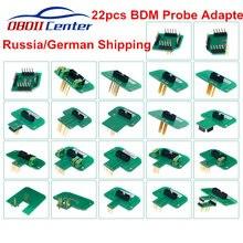 KTAG KESS 2.70 – ensemble d'adaptateurs de cadre BDM, 22 pièces, sondes BDM DImsport pour K TAG KESS, en acier inoxydable
