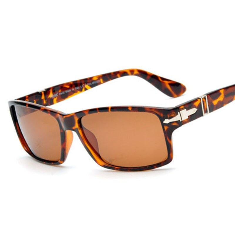 178f22801 2019 Retro Óculos Polarizados Homens óculos de Sol Óculos de Condução do  Tom Cruise James Bond Retângulo Óculos de Design Da Marca Para As Mulheres