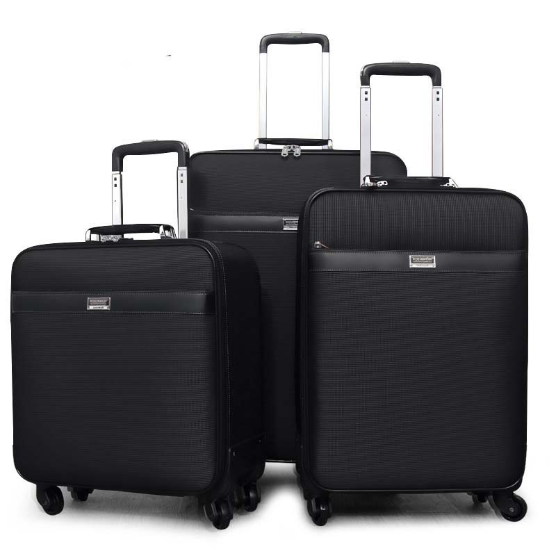 Oxford Rolling Luggage Spinner Men business Trolley 28 inch large capacity Suitcase Wheels 16 inch Cabin Travel Bags Trunk