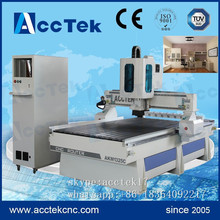 High speed AccTek ATC  cnc router woodworking machining center, cnc wood process center