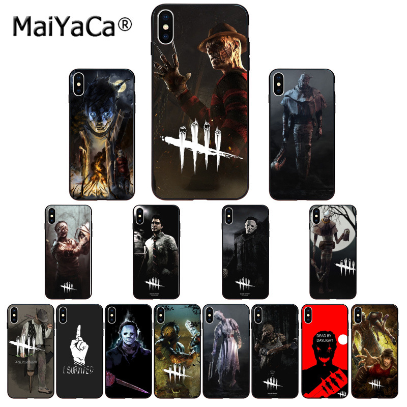 Apprehensive Maiyaca Horror Dead By Daylight Retrospective Novelty Fundas Phone Case For Iphone 6s 6plus 7 7plus 8 8plus X Xs Max 5 5s Xr Bright Luster Cellphones & Telecommunications