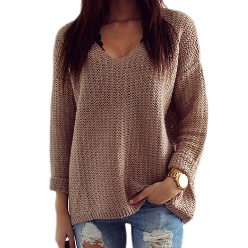 Sweater Womens Pullover Korean Style Oversized Sweaters Blusas ...