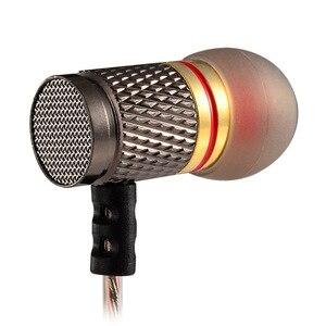 Image 5 - KZ ED Phiên Bản Đặc Biệt Mạ Vàng Nhà Ở Tai Nghe có Microphone 3.5 mét HD HiFi Trong Ear Monitor Bass Stereo Earbuds cho điện thoại
