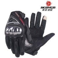 2017 Summer New Biker SCOYCO Motorcycle Gloves Motorbike Rider Glove With Soft Shell Can Touch Screen