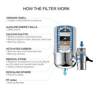 Image 3 - Wheelton Marca de Alta Qualidade elemento de cartuchos de Filtro para filtro De Água purificador de Água Da torneira LW 89 2 pçs/lote Frete grátis
