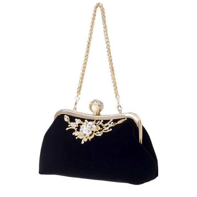 Velvet Handbag Vintage Evening Bag