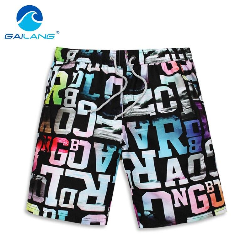 Gailang Brand Mens Swimwear Trunks Board Shorts Swimsuits Man Boardshorts Quick Drying Shorts Bermuda Casual Boxer Trunks Jogger