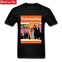 2017 Latest Classic Trainspotting Tee Tshirt Men S British Film Movie T Shirts Men Custom Made
