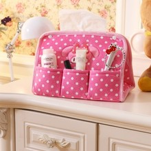 BF040 Creative cotton towel sets desktop storage box smoke bag lovely tissue 26*19*15cm