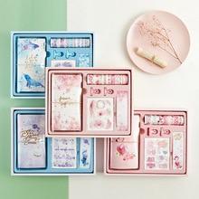 Flamingo Bullet Journal Gift Box Set Korea Freshness Student Gift Stationery Travelers Notebook