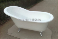 Free Shipping 67 Cast Iron Slipper Clawfoot Tub Not Include Faucet And Drainer W7002