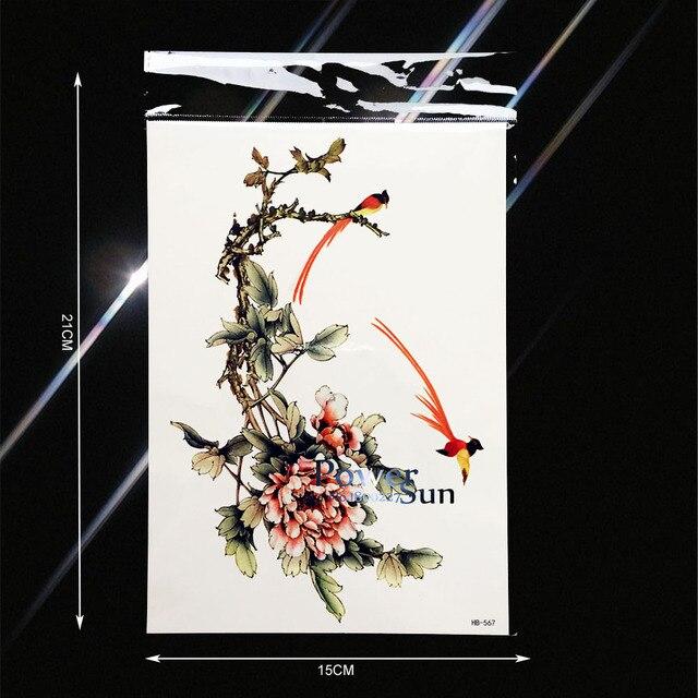 Chine Corps Art Peinture Tatouage Autocollants Femmes Faux Flash