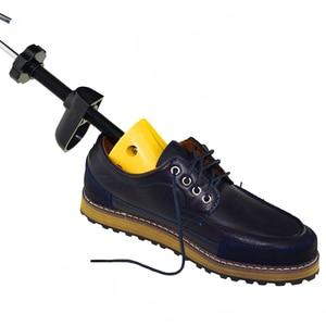 Image 3 - BSAID Novo 1 Pedaço de Sapato de Plástico Rack de Maca Para Homens Sapatos de Couro Sapato de Salto Alto Mulheres Unissex Ajustável De Madeira Da Sapata expansor