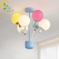 Новый дизайн в виде шарика, потолочная лампа современная простая детская комната для мальчиков и девочек светодиодный потолочный светильн