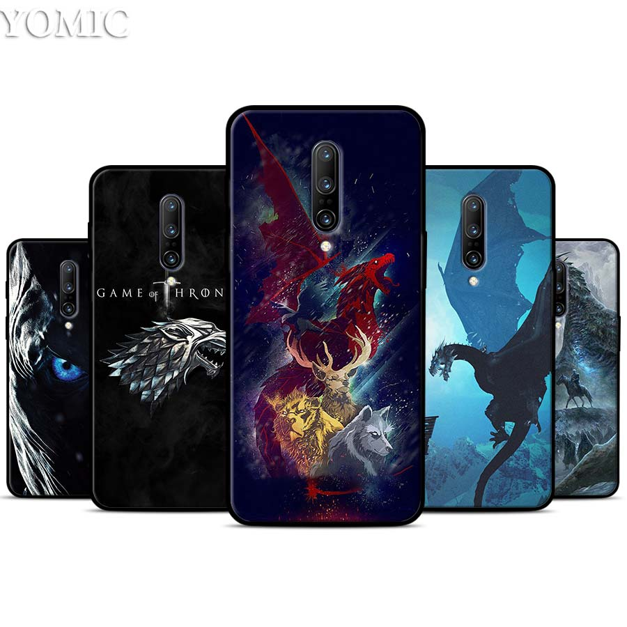 Game of Throne Silicone Case for font b Oneplus b font font b 7 b font