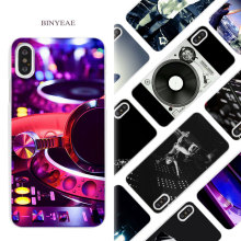 Vinyl record phone cases for iPhone X 6 6S 7 8 Plus 5 5S SE 4 4S 5C