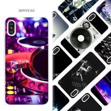 Vinyl record phone cases for iPhone X 6 6S 7 8 Plus 5 5S SE 4 4S 5C