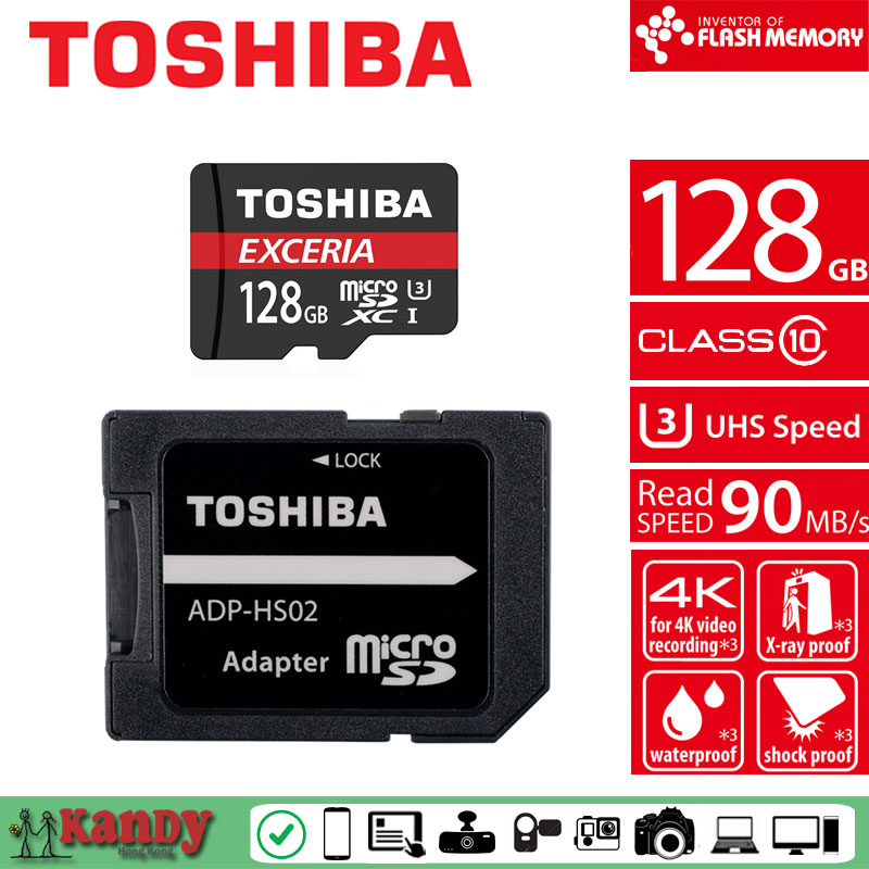 Toshiba micro sd card M302 4K 128gb memory card class 10 UHS U3 90MB microsd cartao de memoria tarjeta micro sd memoria micro sd remax 128gb micro sd memory card