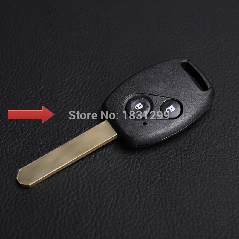 Hot sale high quality leather car key case Genuine Leather key chain ring cover case holder for Honda CR-V Civic car key cover